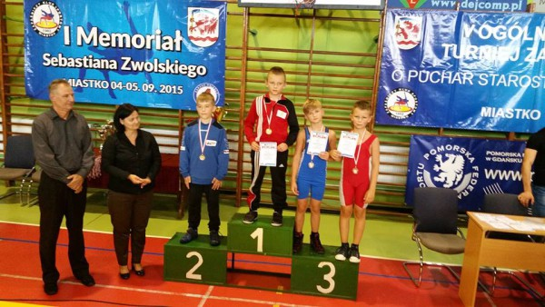 Witold Szor i Bartłomiej Tandecki na trzecim miejscu podium