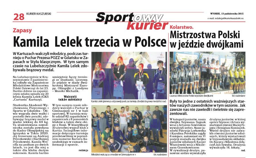 K. Lelek trzecia w Polsce