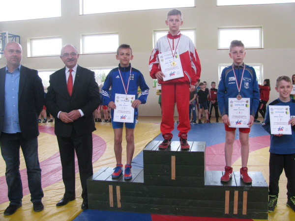 Kaceper Karaśkiewicz - zwycięzca kategorii wagowej do 35 kg