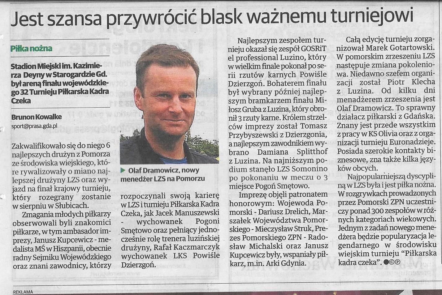 Dziennik Bałtycki 17.06.2016