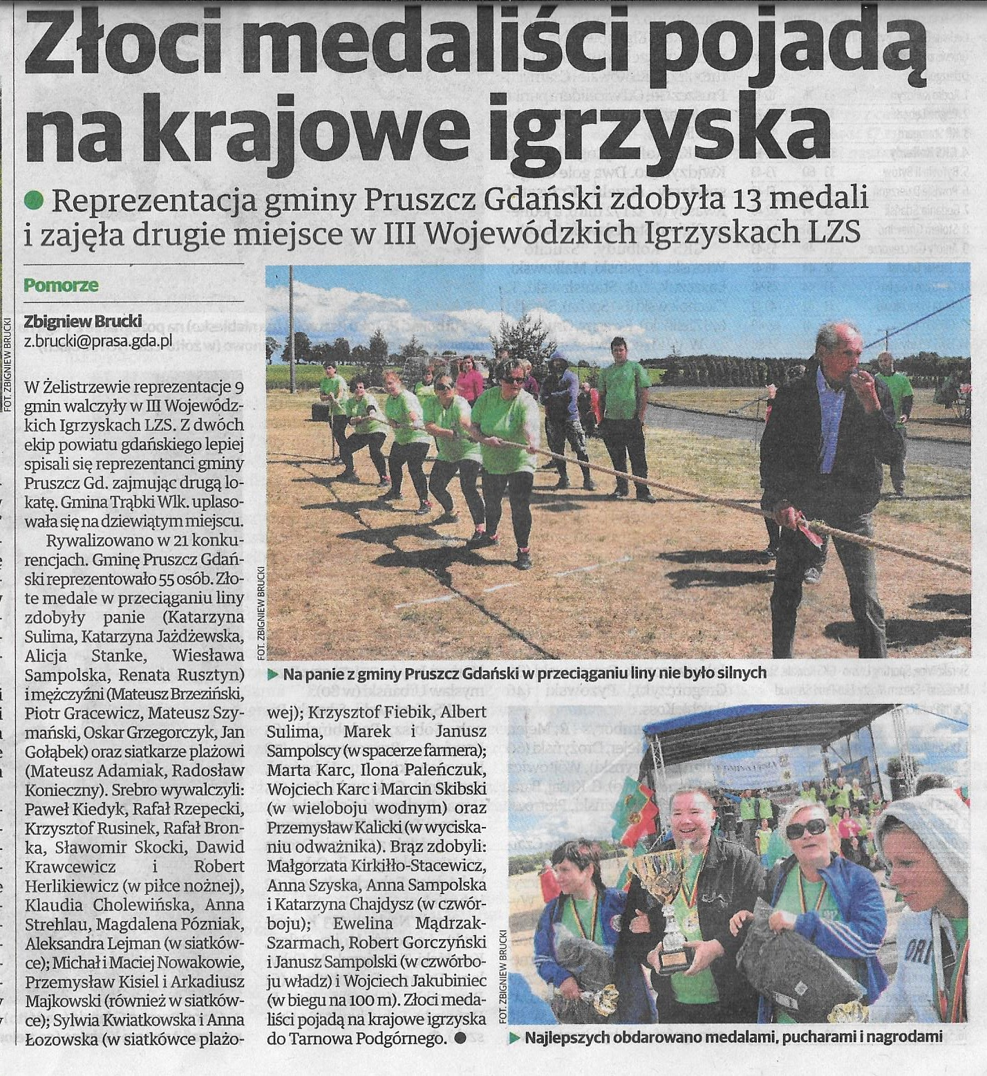 Echo Pruszcza 17.06.2016