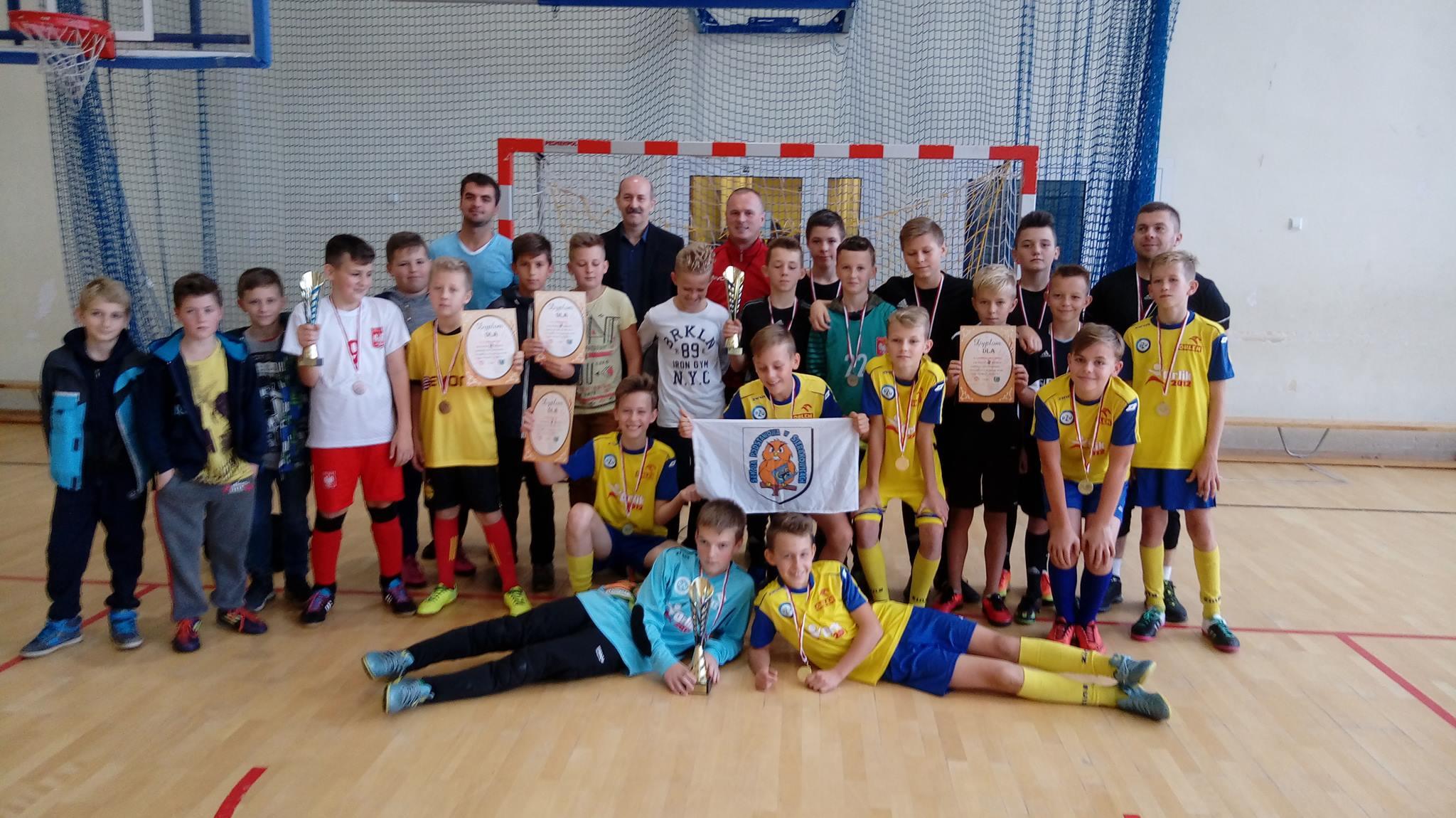 Mistrzostwa Gminy Sierakowice w Halowej Piłce Nożnej Szkół Wiejskich