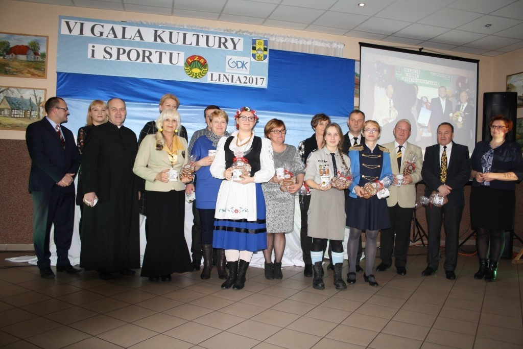 VI Gala Kultury i Sportu Gminy Linia