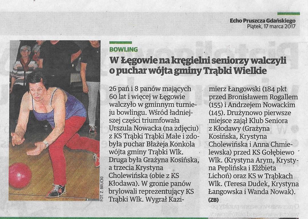 Echo Pruszcza Gdańskiego - 17.03.2017