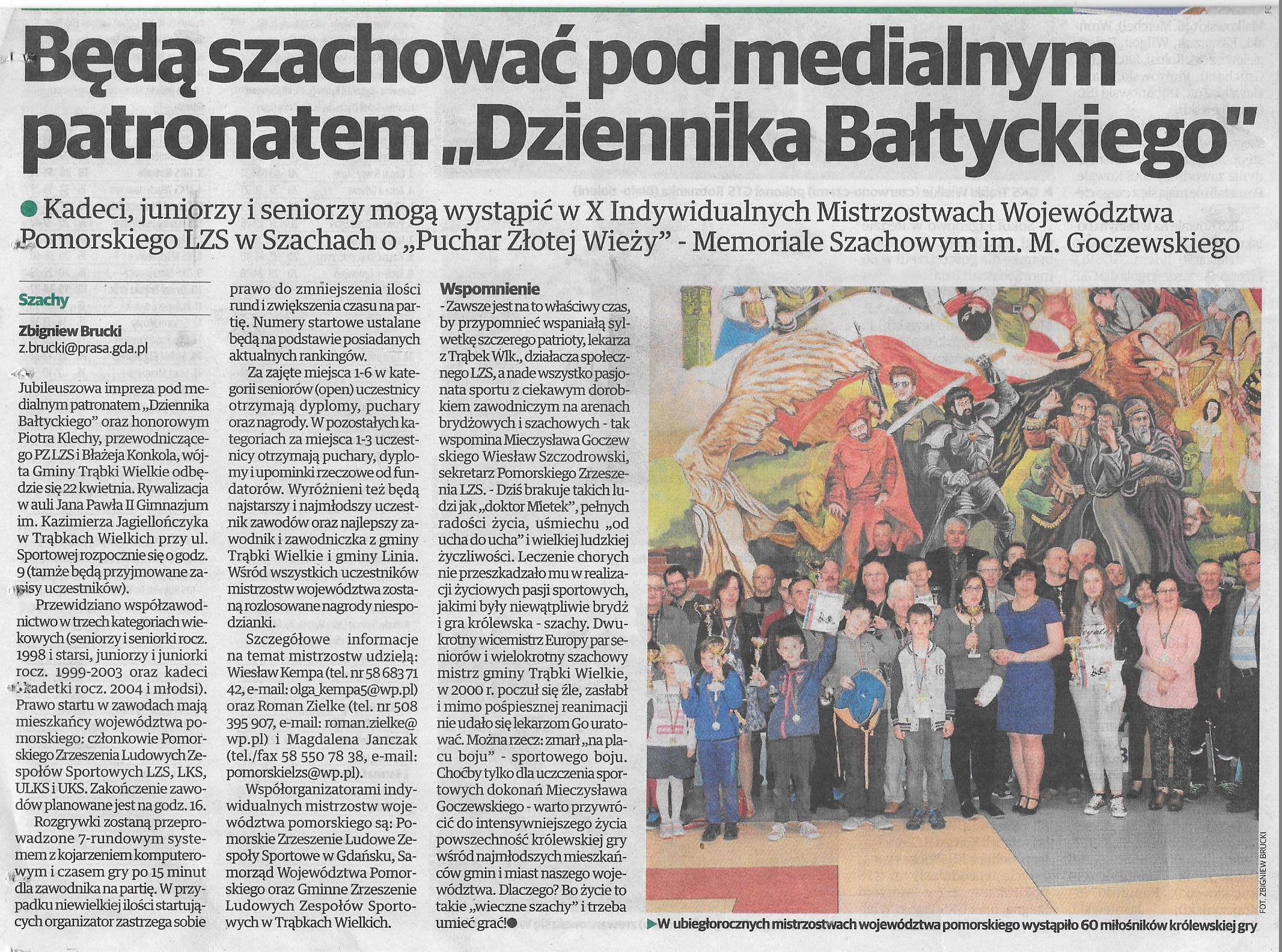 Echo Pruszcza Gdańskiego, 31.03.2017