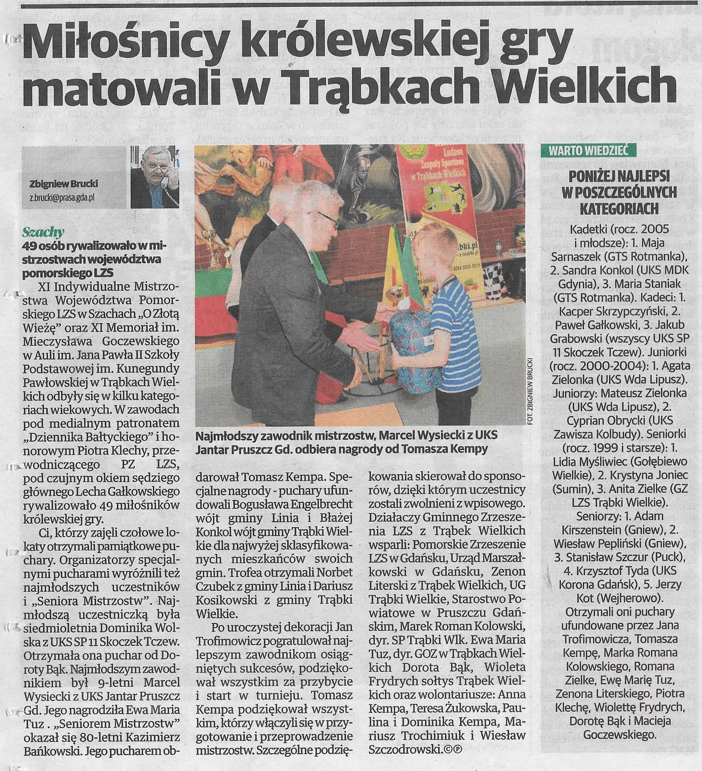 Echo Pruszcza Gdańskiego, 27.04.2018